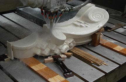 lavorazione di precisione pietra