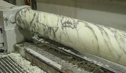 tornitura marmo