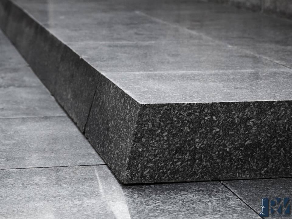lastra di granito nero