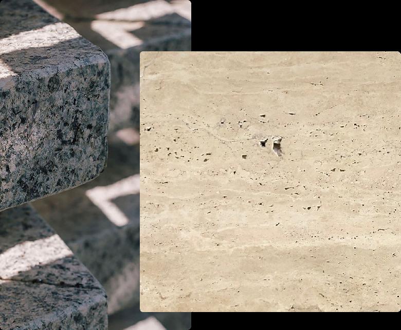 differenze marmo e granito